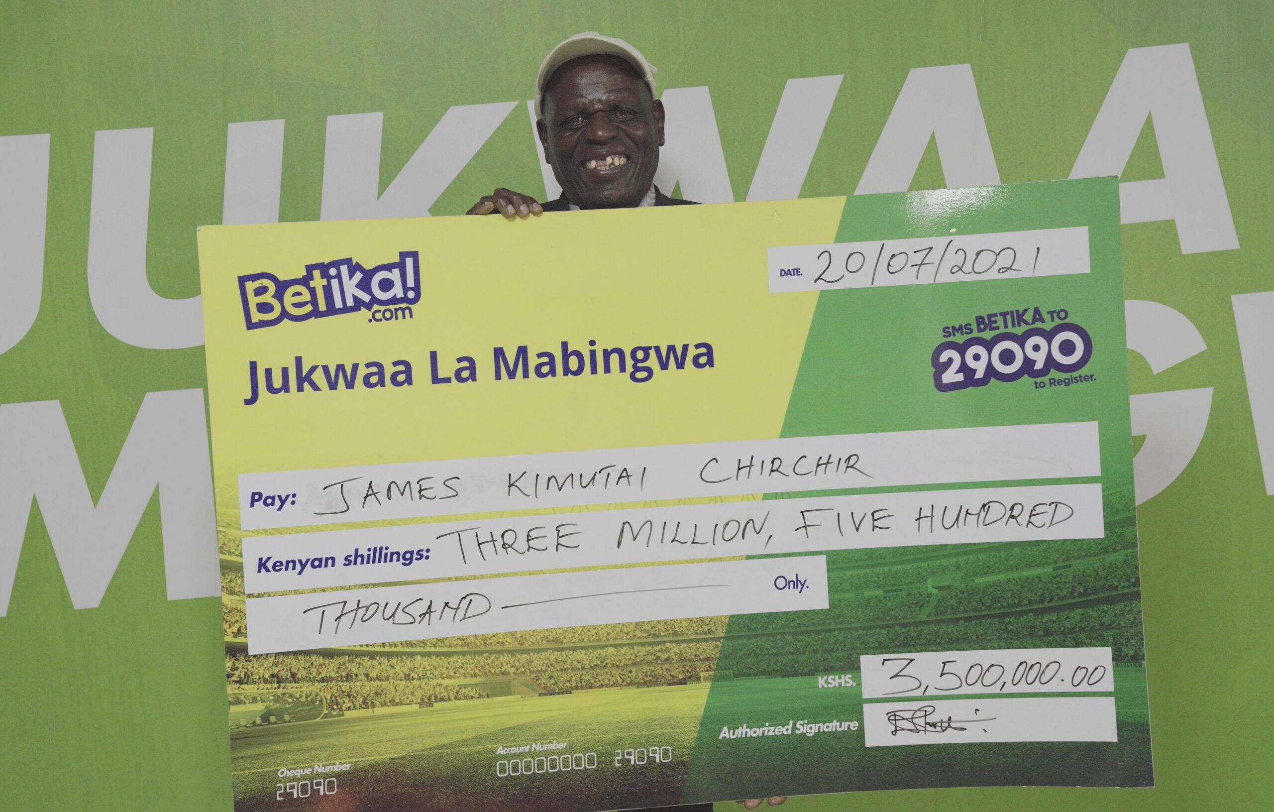 Betika Midweek Jackpot Winners Moments of Glory in Photos