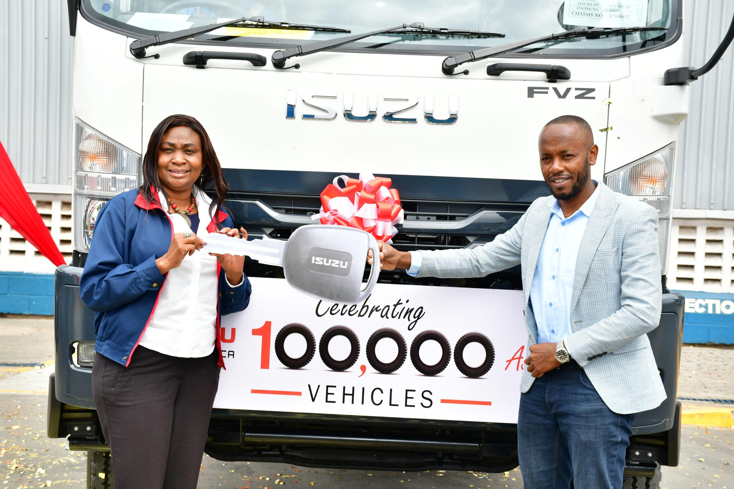 Isuzu East Africa Hits 100,000 Vehicle Production Milestone