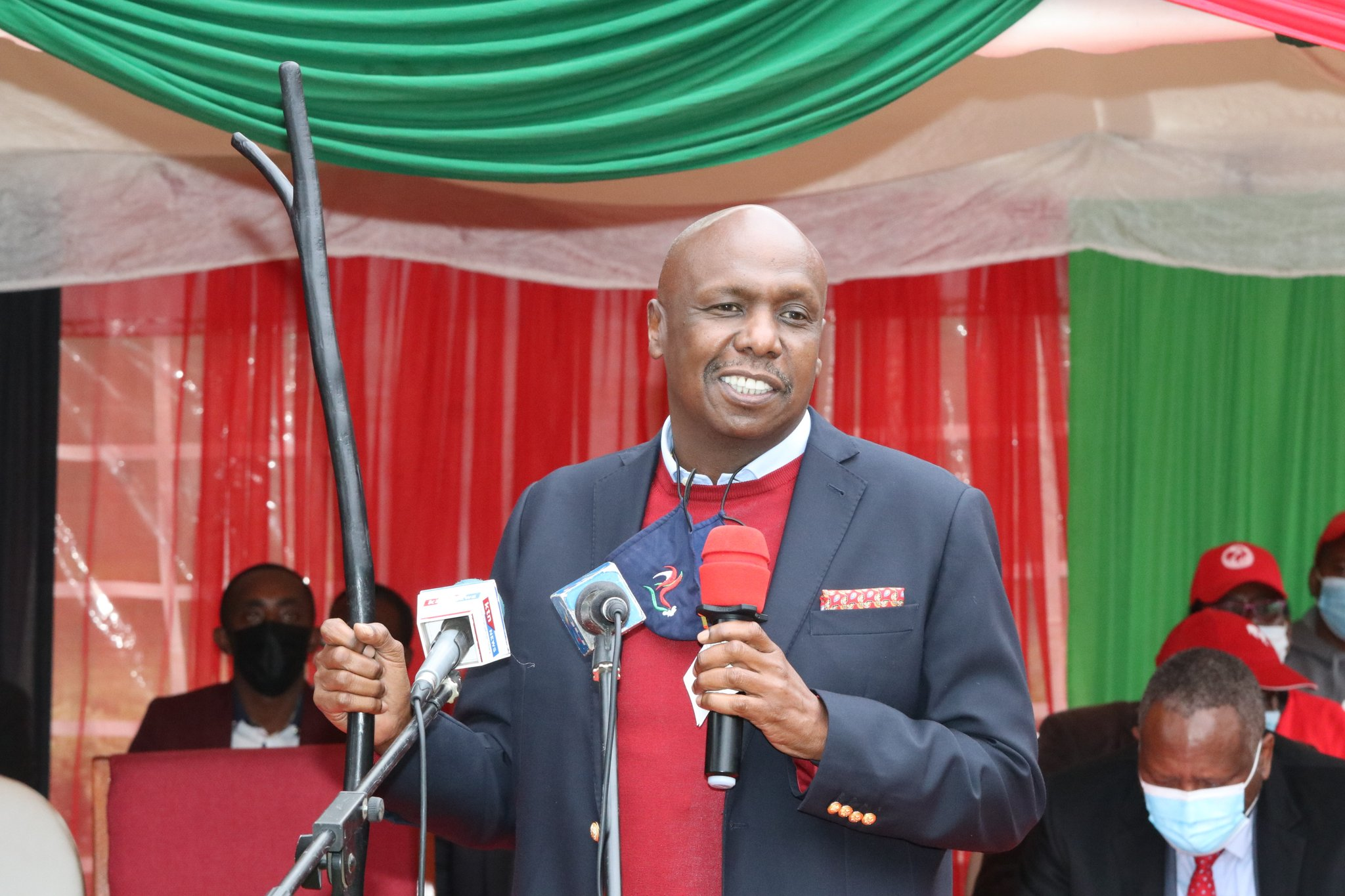 GIDEON MOI says KANU will not join One Kenya Alliance if RAILA ODINGA is not included in the deal
