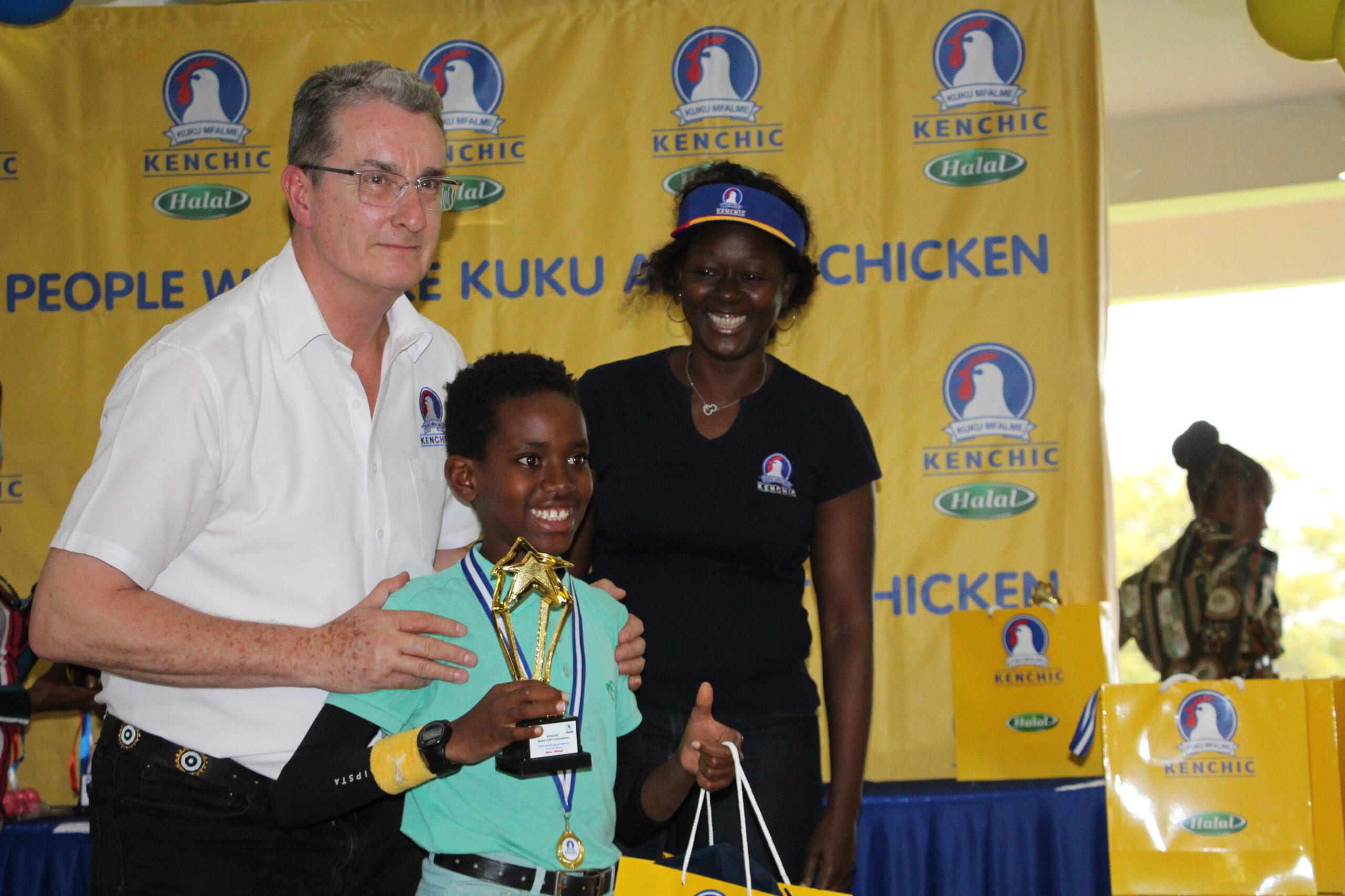 Africa Champ Kanana Muthomi Nets Kenchic Junior Golf Title