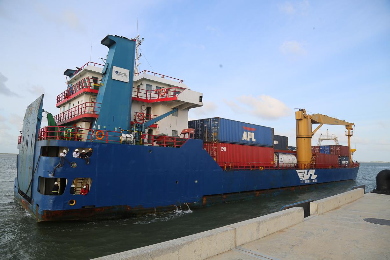 Port of Lamu Receives Transshipment Consignment from Zanzibar en-route to Dubai