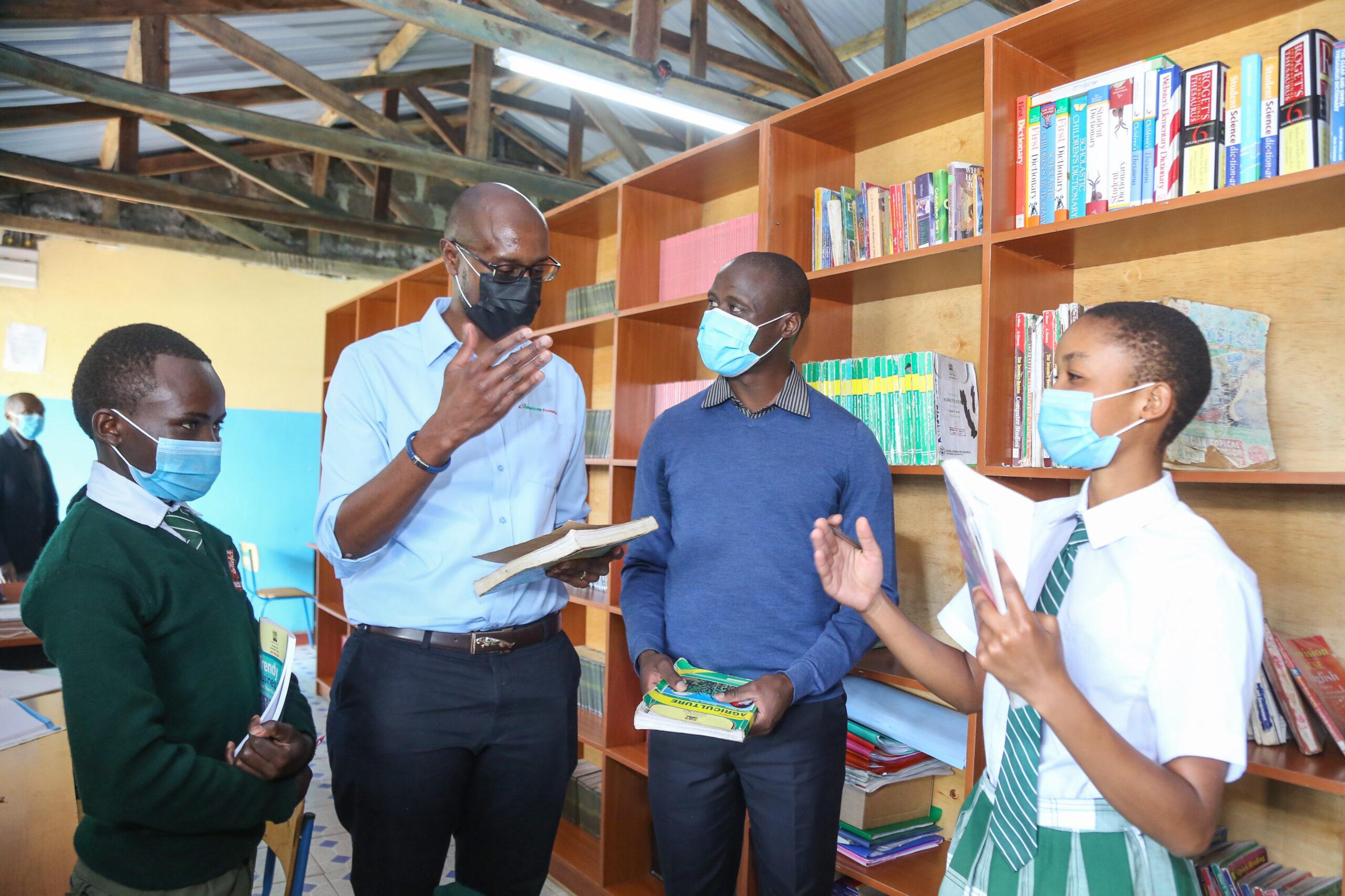 Safaricom Partners with World's Best Teacher to Equip Nakuru School