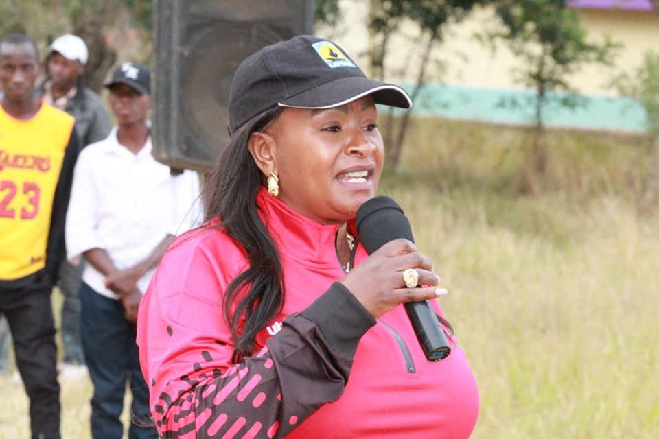 Transport CAS Wavinya Drives Machakos Women's Football League Agenda