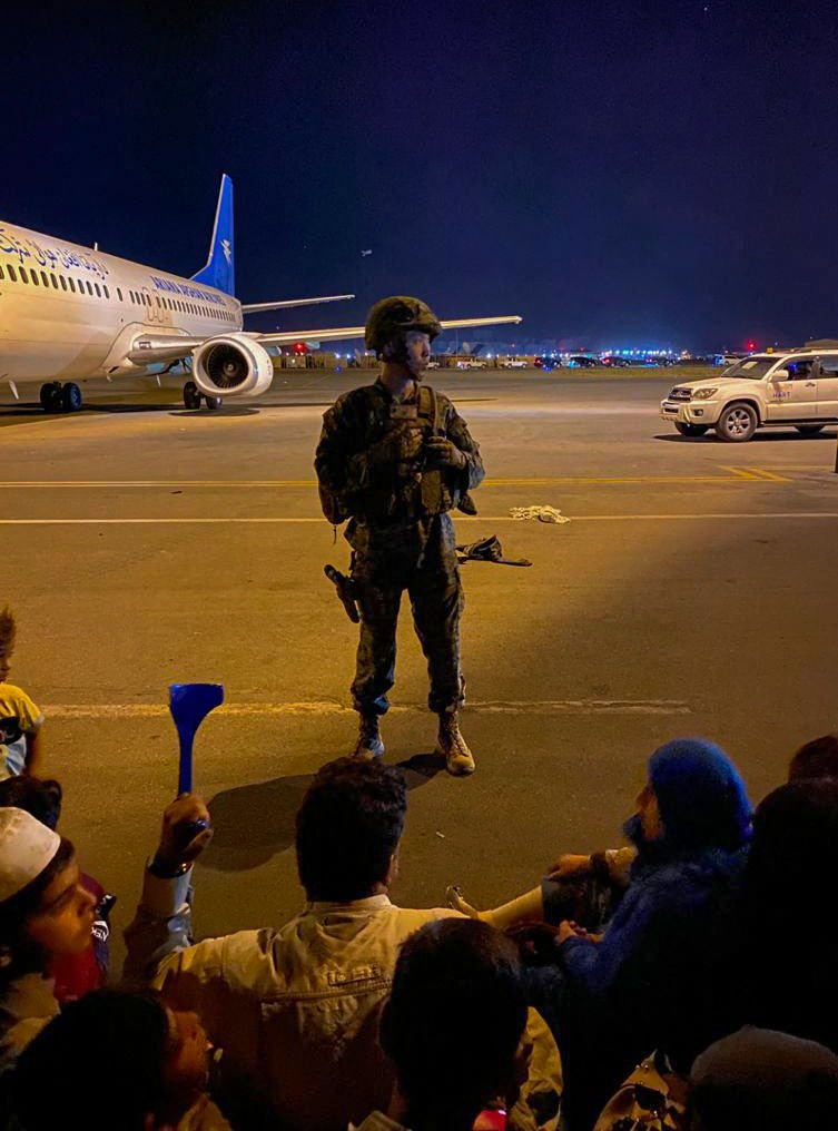 Panic at #Kabul Airport as #Afghans Rush to Flee #Taliban After U.S. Evacuates Staff