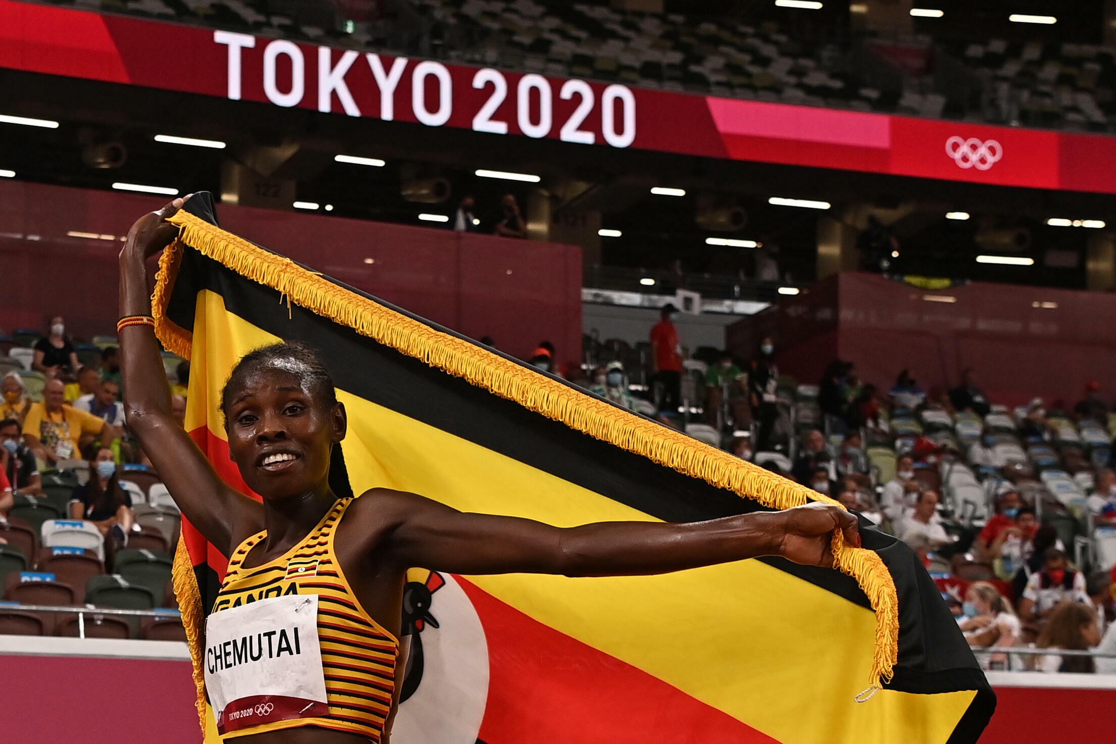 Tokyo 2020:Steeplechase Win Eludes Kenyan Women as Chemutai Wins Uganda's First Ever Olympic Gold