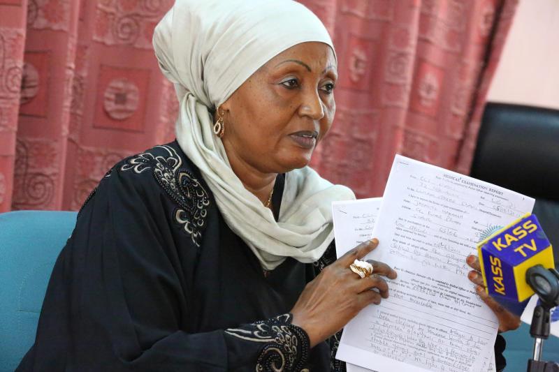 COVID-19 Claims Former Kwale MP Zainab Chidzuga