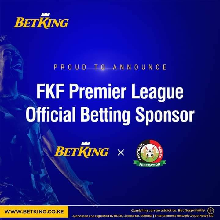 FKF and Gaming Firm Betking Mutually Part Ways