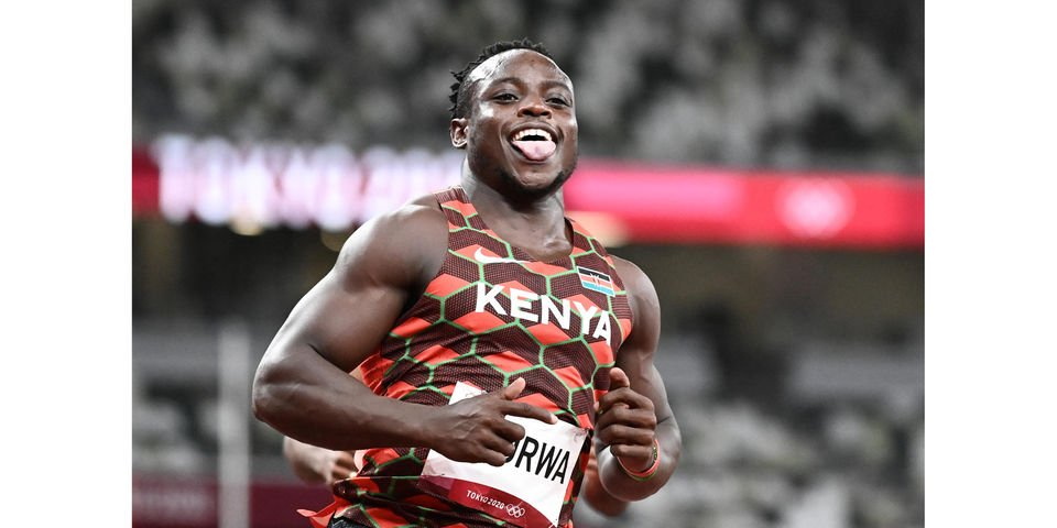 Tokyo 2020: Omanyala Emerges as First Kenyan Sprinter to Reach Olympic Semis