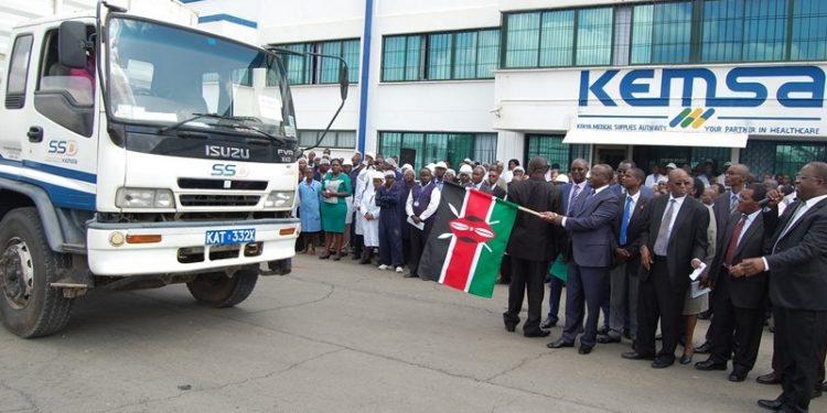 KEMSA Dispatches Health products Worth Ksh 100 million to Nakuru County