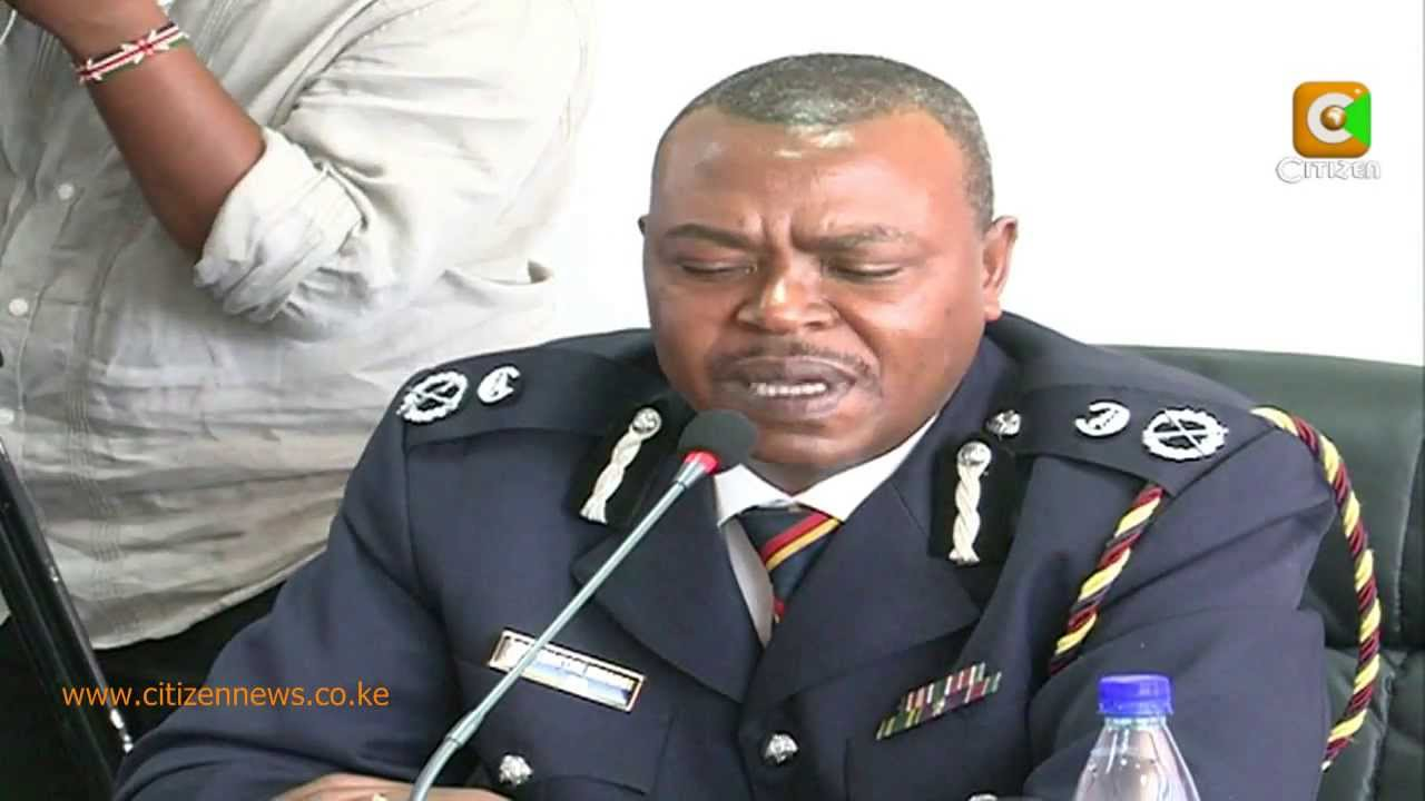 Police Boss Kingori Mwangi Drives on Wrong Side Injures Pedestrians in Accident