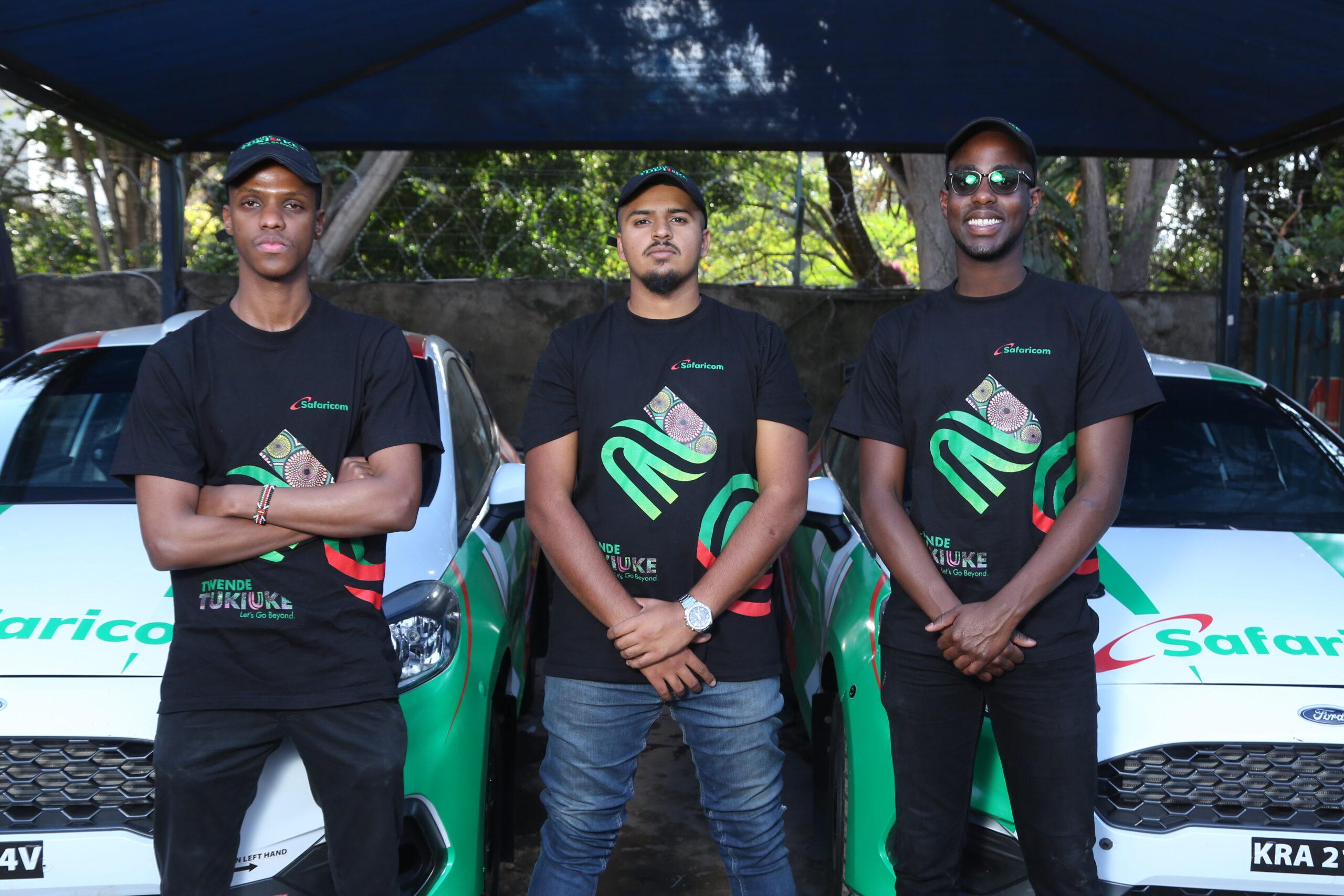 FIA Safaricom Trio in Machakos to Challenge for Rally Top Honours