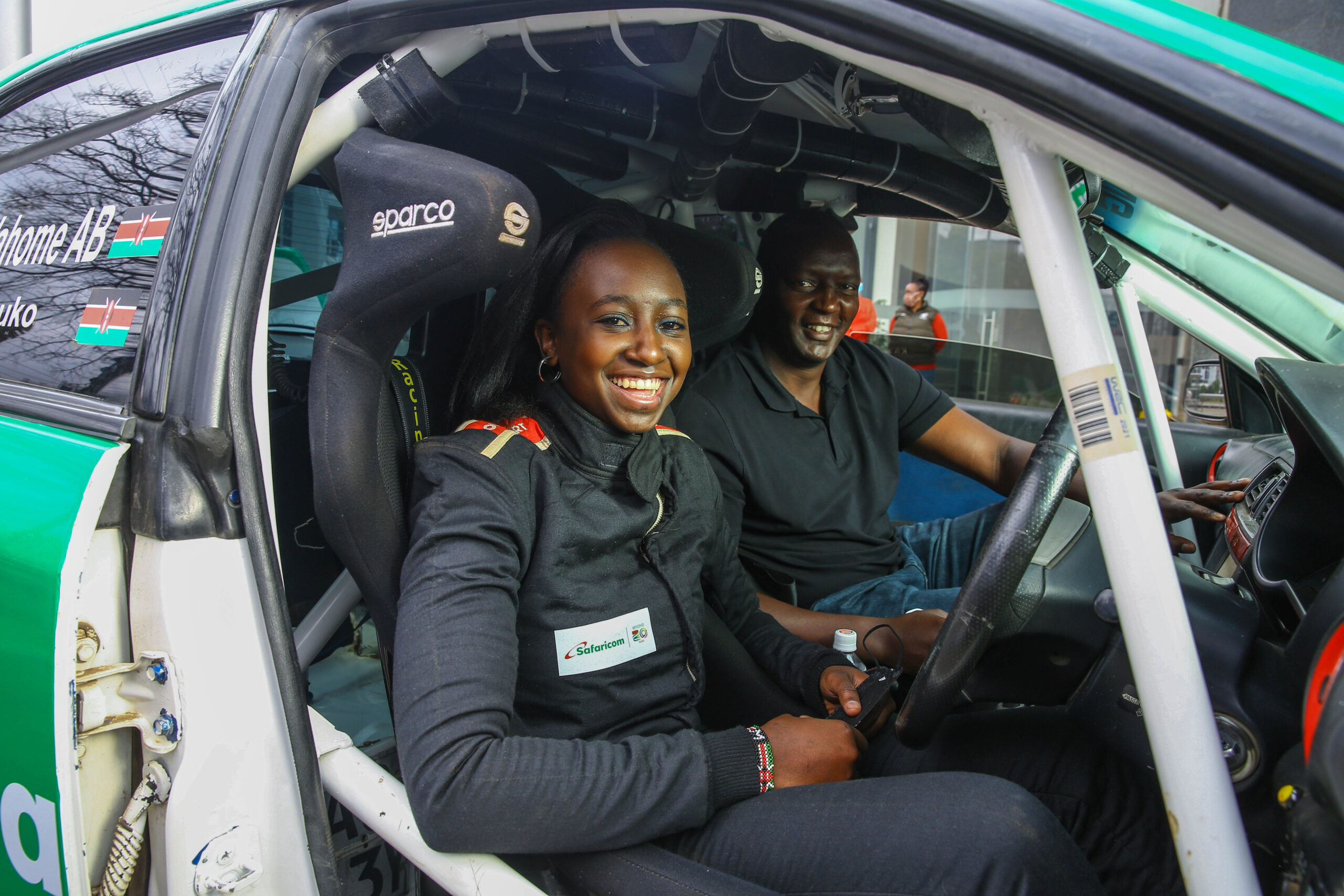 Safaricom Funds 'Riding Queen' Maxine Wahome to Drive in Voi Rally