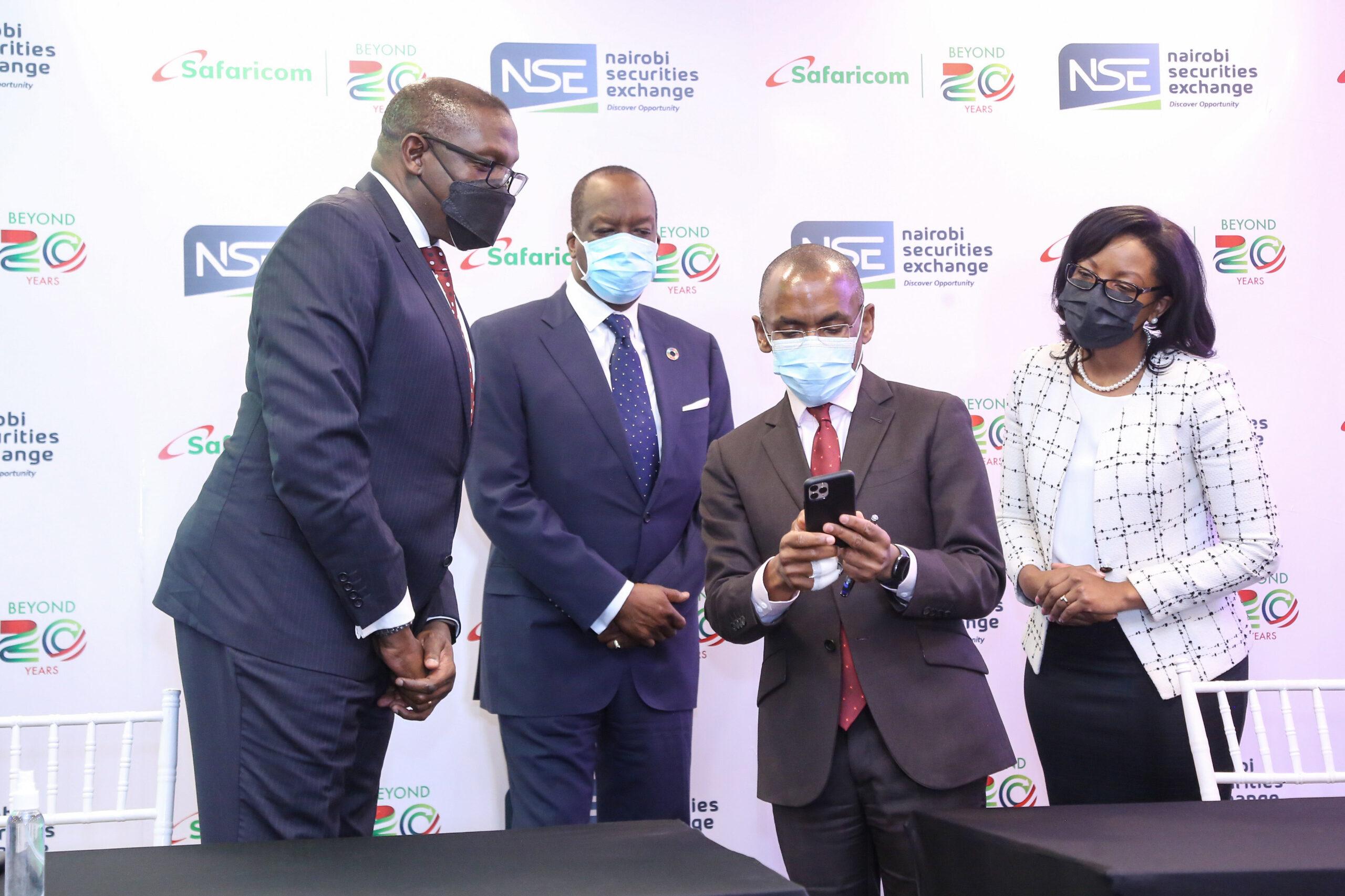 Safaricom Customers to Trade at Nairobi Securities Exchange Using Bonga Points