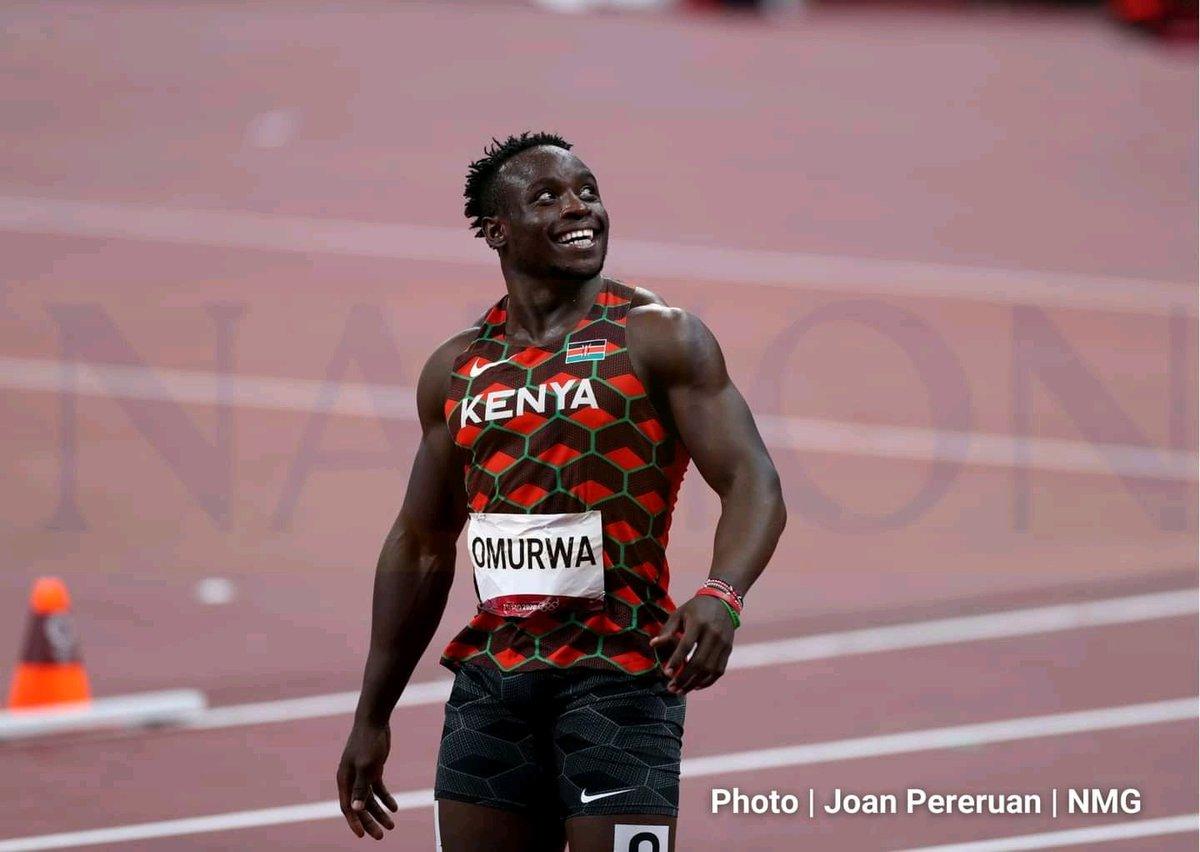 Tokyo 2020: Kenya's National Record Holder Omanyala Jets Back from Olympics