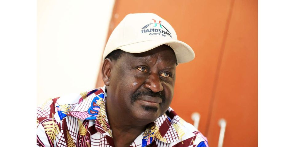Raila Odinga and the Comrades