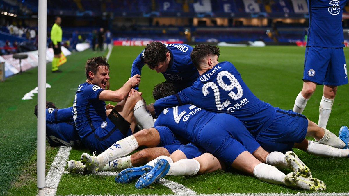 Chelsea Tops English Premier League Standings