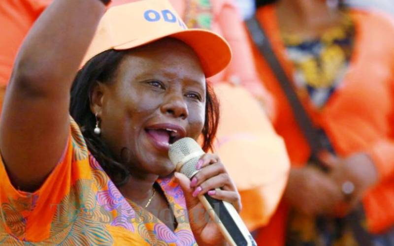 Kenyan MP Dennitah Ghati to Head Commonwealth Parliamentarians