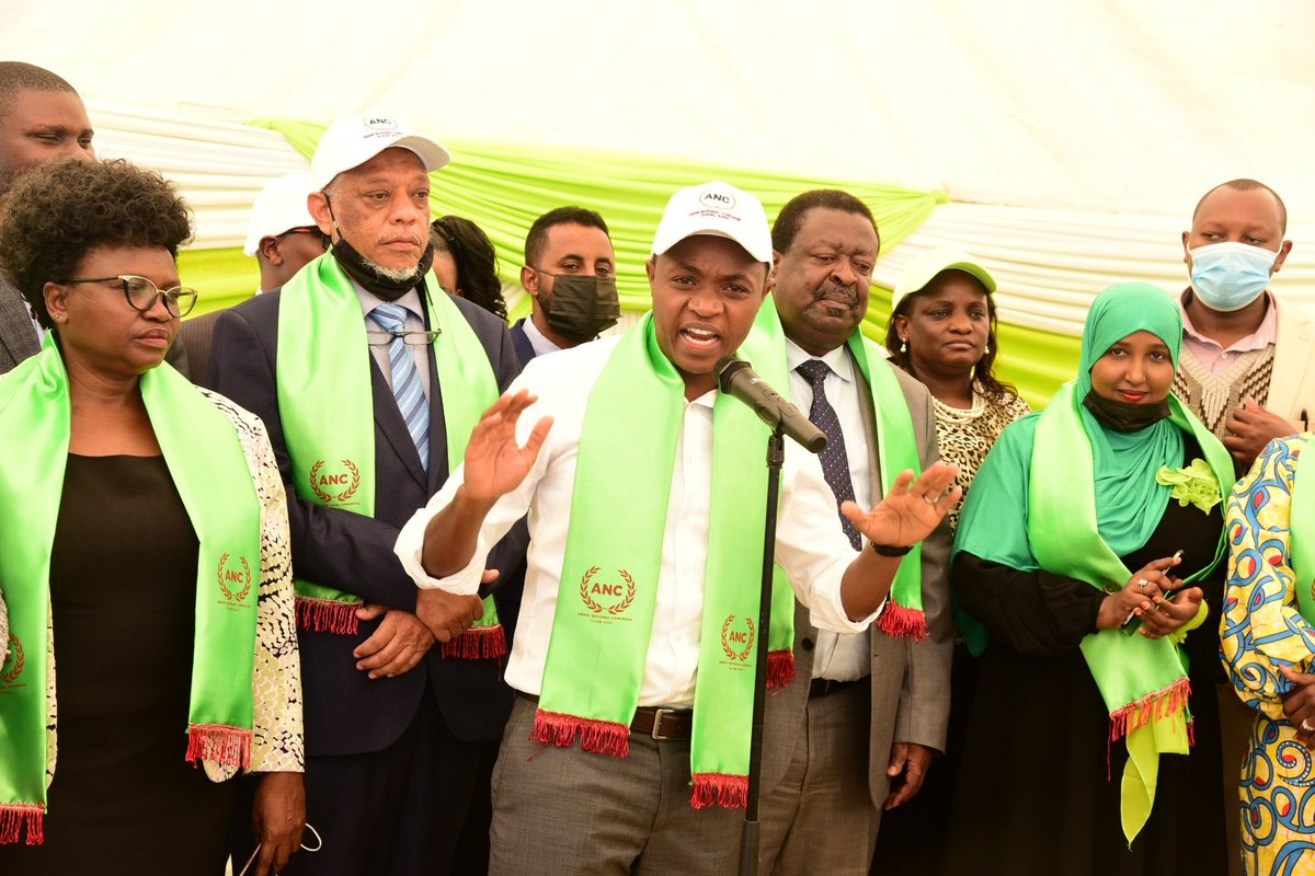 Mudavadi Appoints Jubilee Party Murang'a Branch Chairman as ANC Party Secretary General