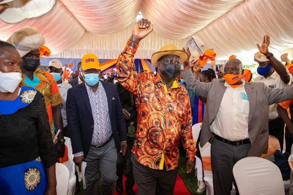 Azimio la Umoja Train hits Western Kenya as Raila steps up his 2022 presidential bid