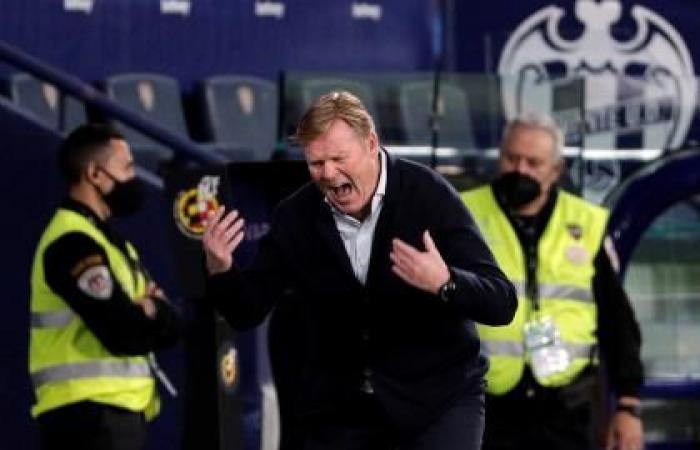 Laliga: Koeman Sees Red as Barcelona Draw