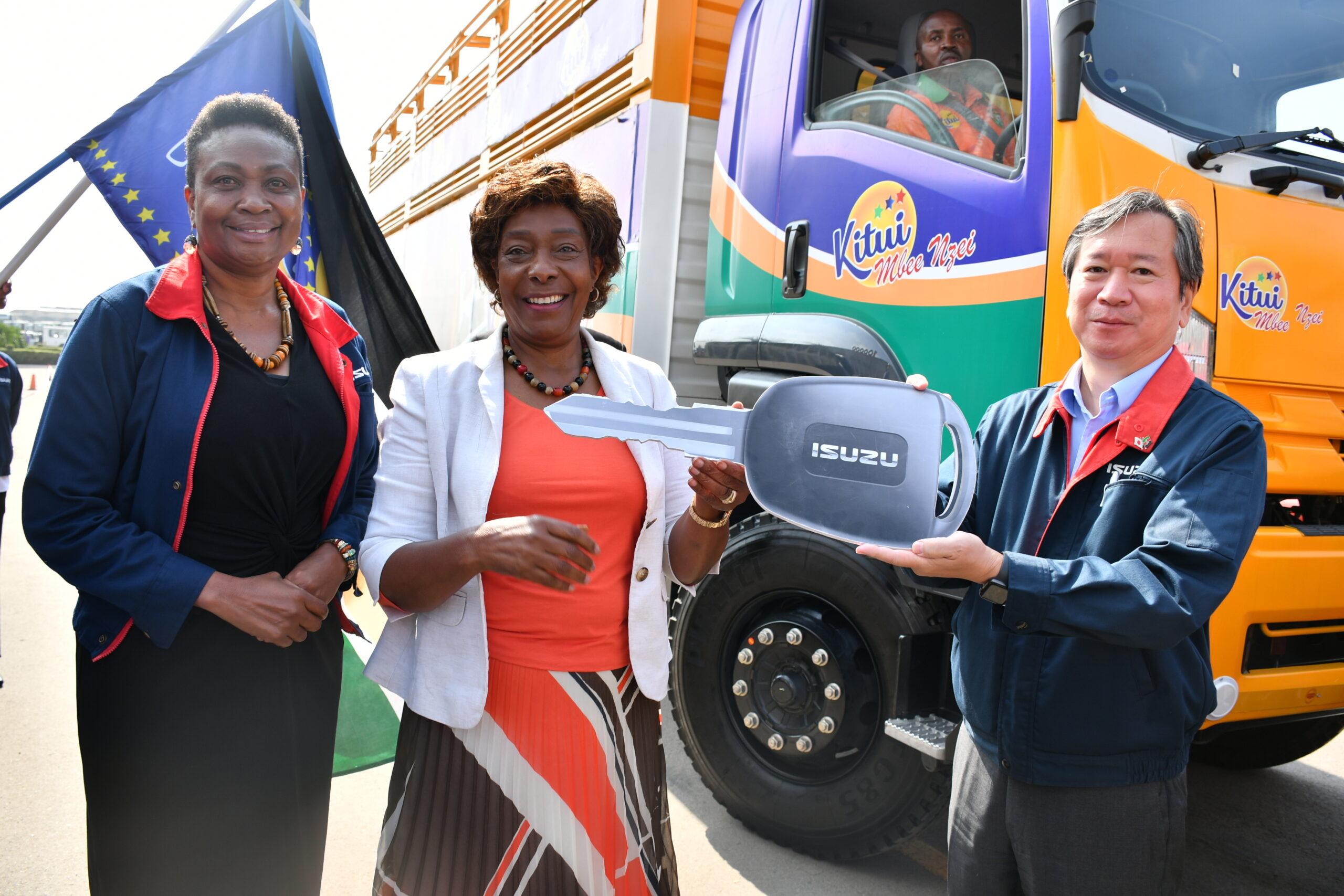 Isuzu Designs Cattle Carrier Trucks for Kitui County