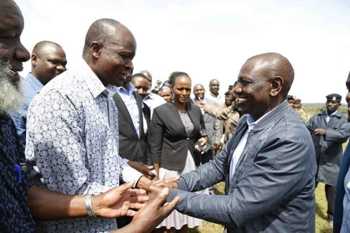 Obado De-links from ODM Hosts DP William Ruto in Migori