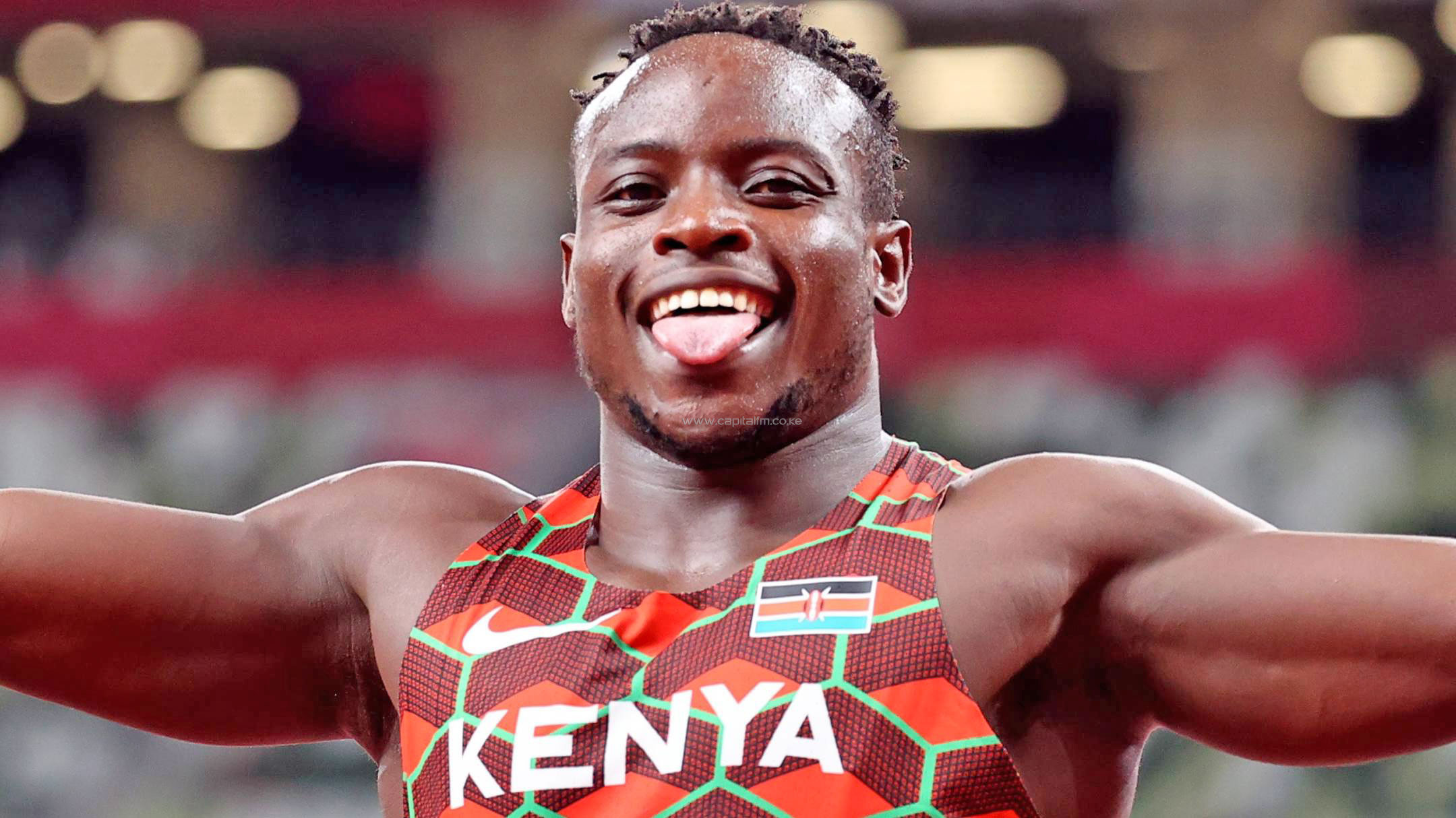 Omanyala Sprints to World's Best Time and African Record