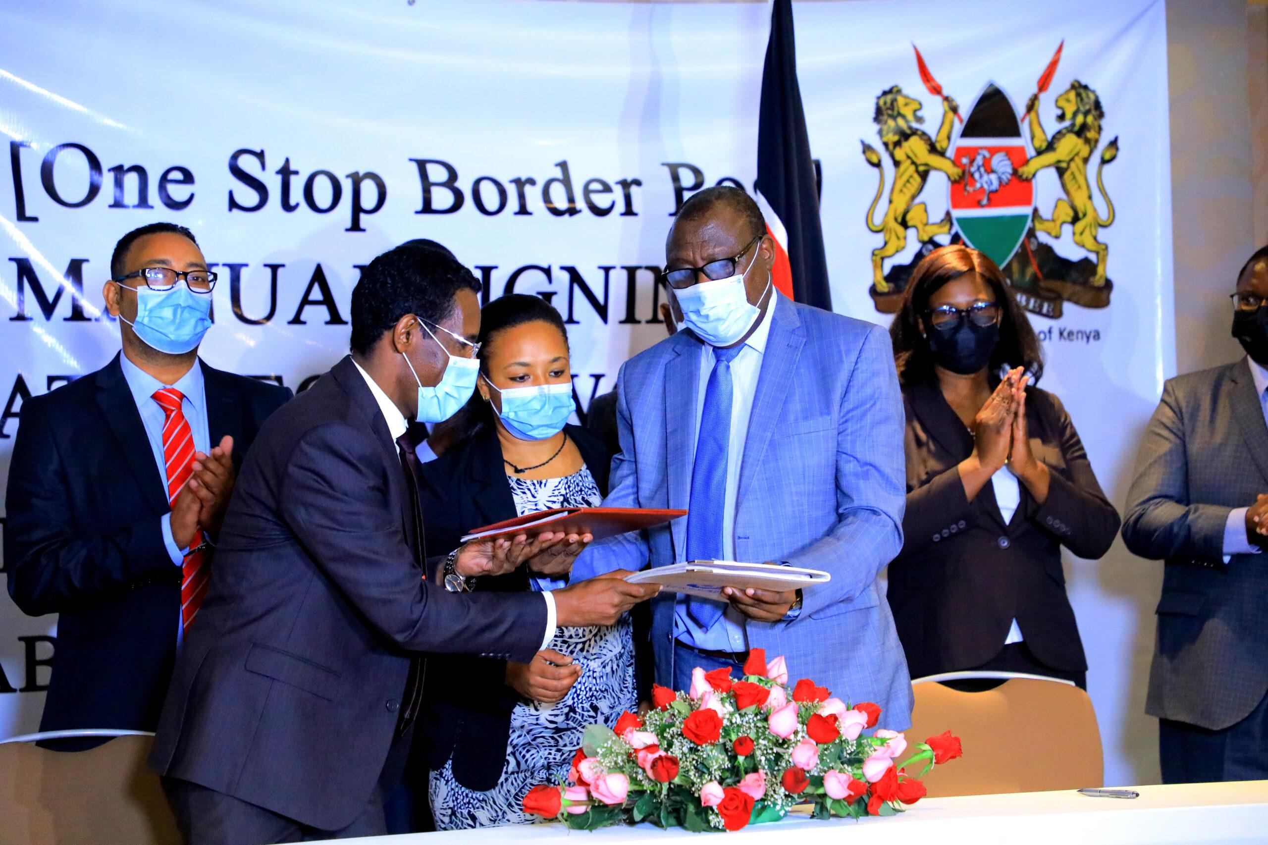 Kenya, Ethiopia Sign Moyale One Stop Border Post  Procedure Manual