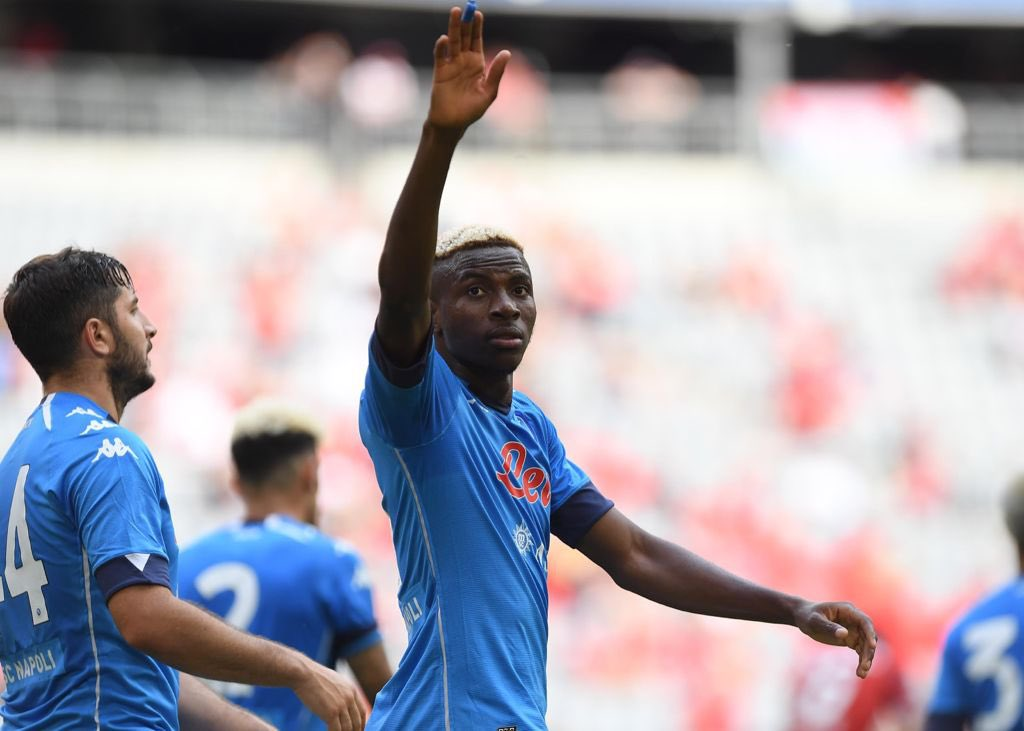 Nigerian Victor Osimhen double denies Leicester Victory in Europa League