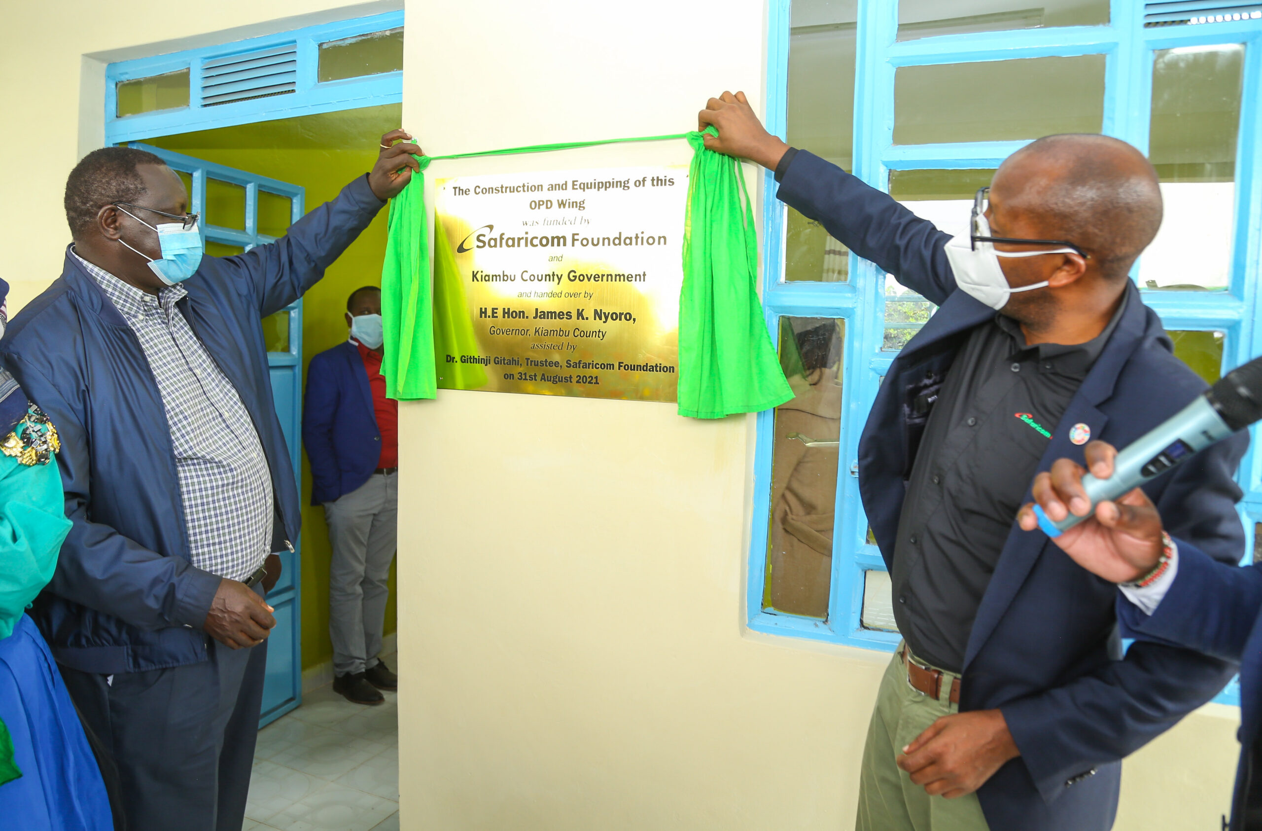Safaricom Foundation Paves Way for Rironi Health Centre Outpatient Wing