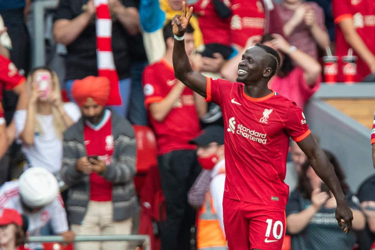 Sadio Mane Scores Liverpool Career 100th Goal