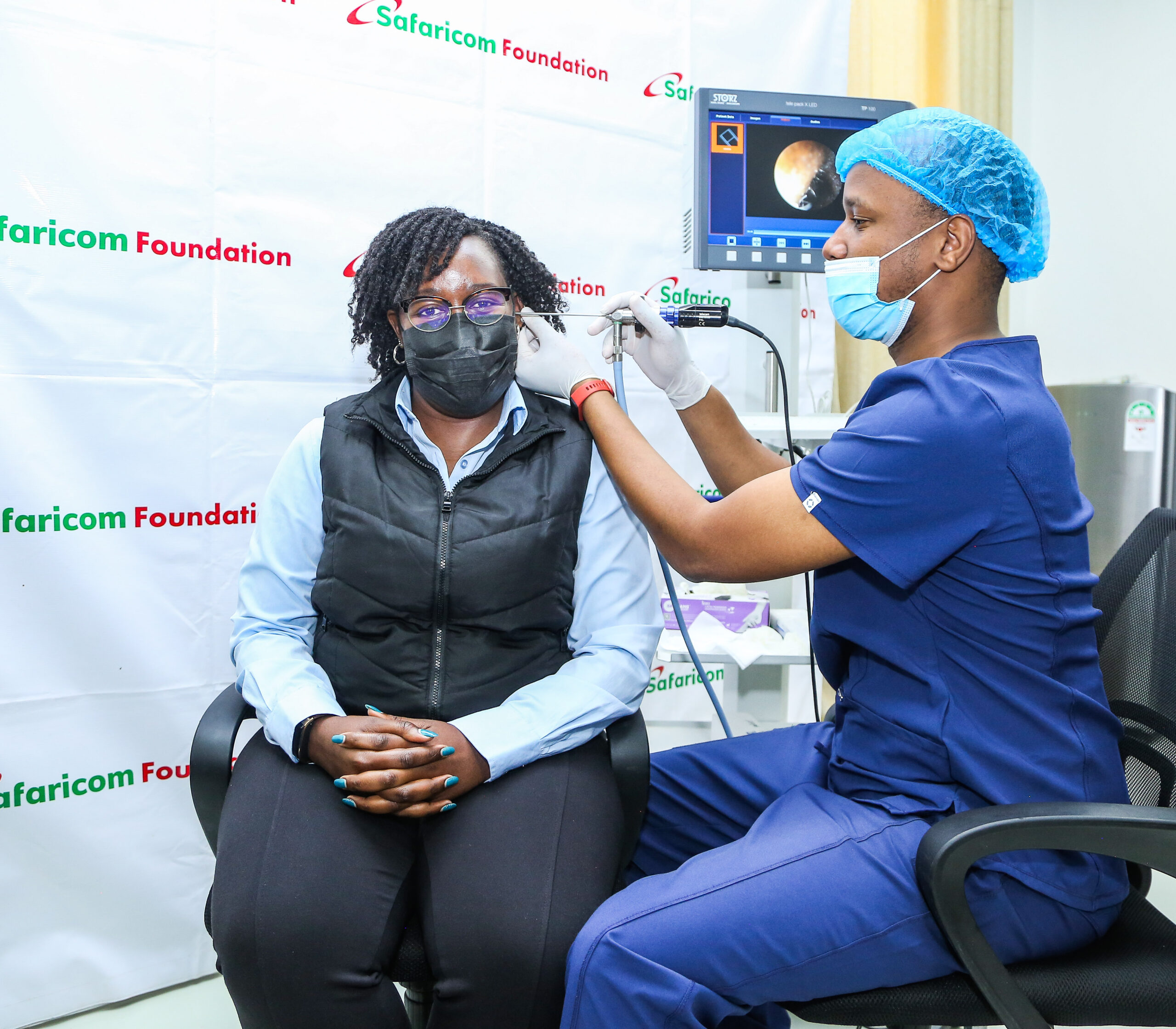 Safaricom Foundation, Operation Ear Drop Kenya Support the Hearing Impaired