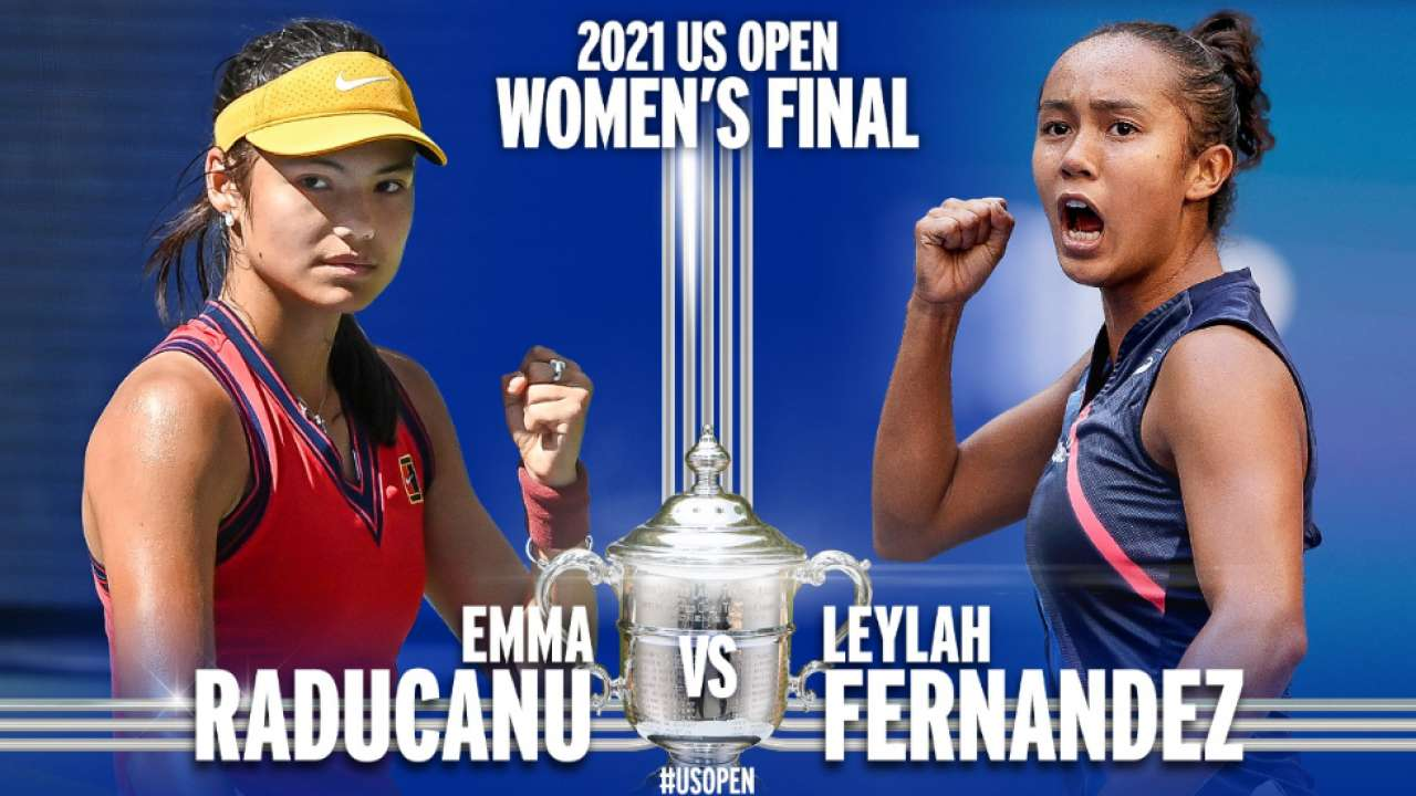 Tennis: Raducanu Battles Fernandez  In a First All Teens US OPen Finals in 22 Years