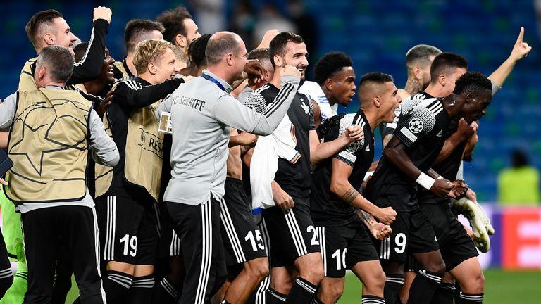 Uefa Champions League: Sheriffs Arrest Real Madrid in Spain