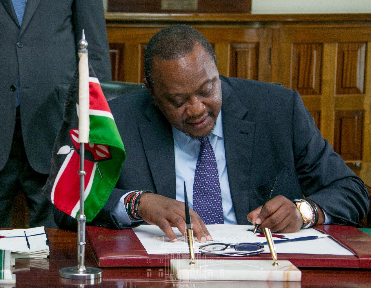 President Kenyatta Reshuffles Cabinet, Reassigns Principle Secretaries
