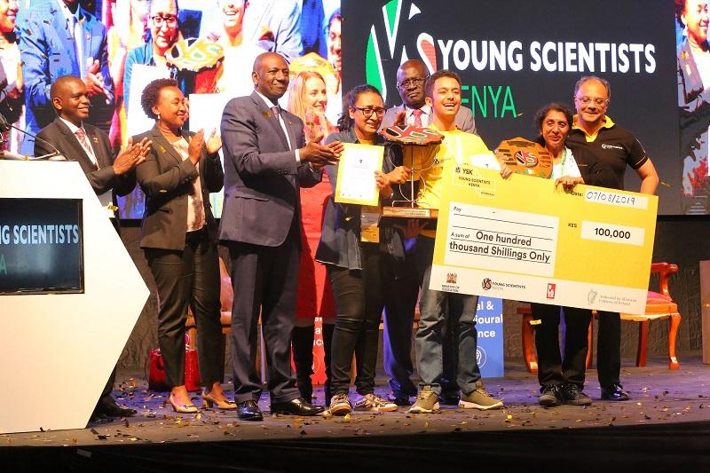BLAZE by Safaricom Blazes Young Scientists with KES 9M