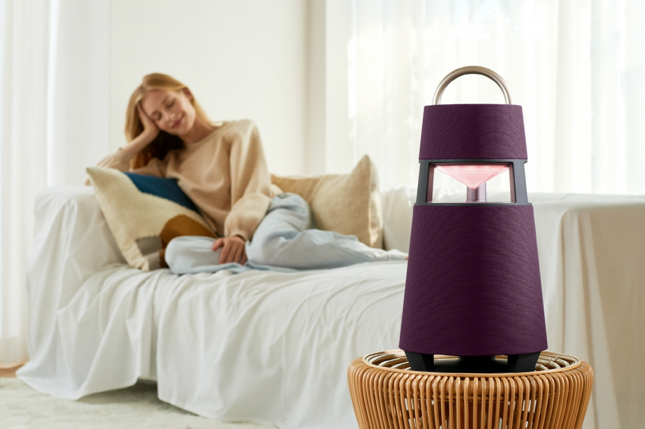 LG XBOOM 360 SPEAKER DELIVERS A BOOMING PERFORMANCE
