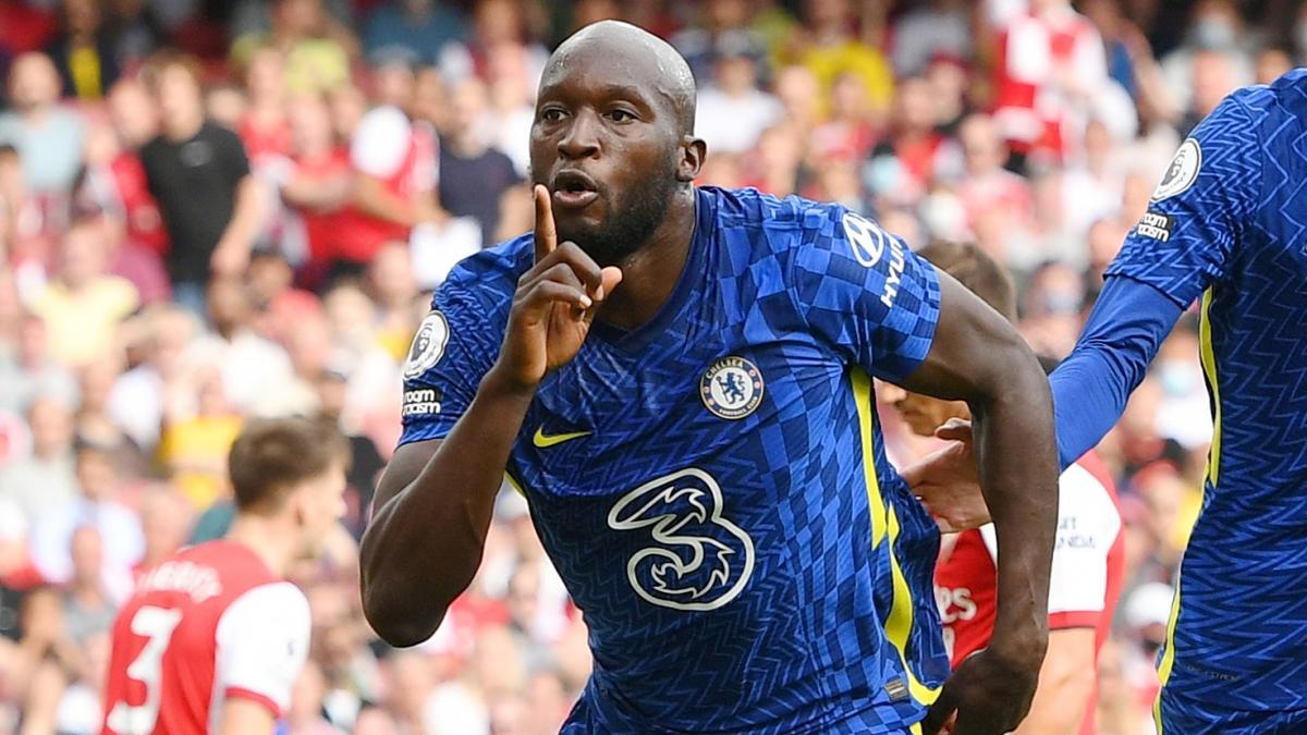 Lukaku Scores First Ever English Premier League Goal as a Chelsea Player