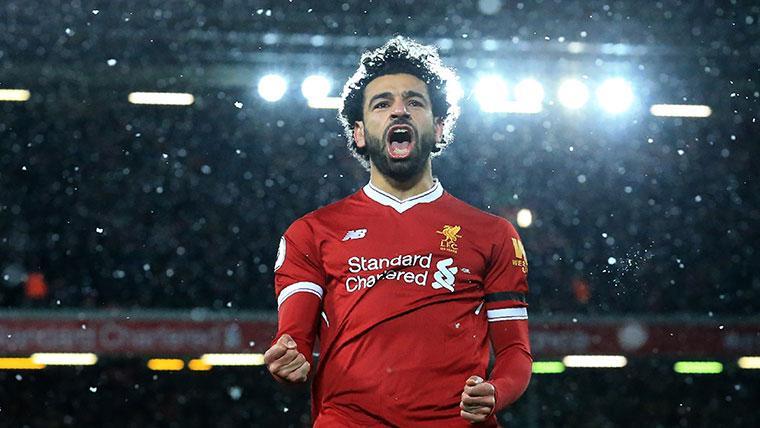 Liverpool's Mo Salah Nets 100th Premier League Goal