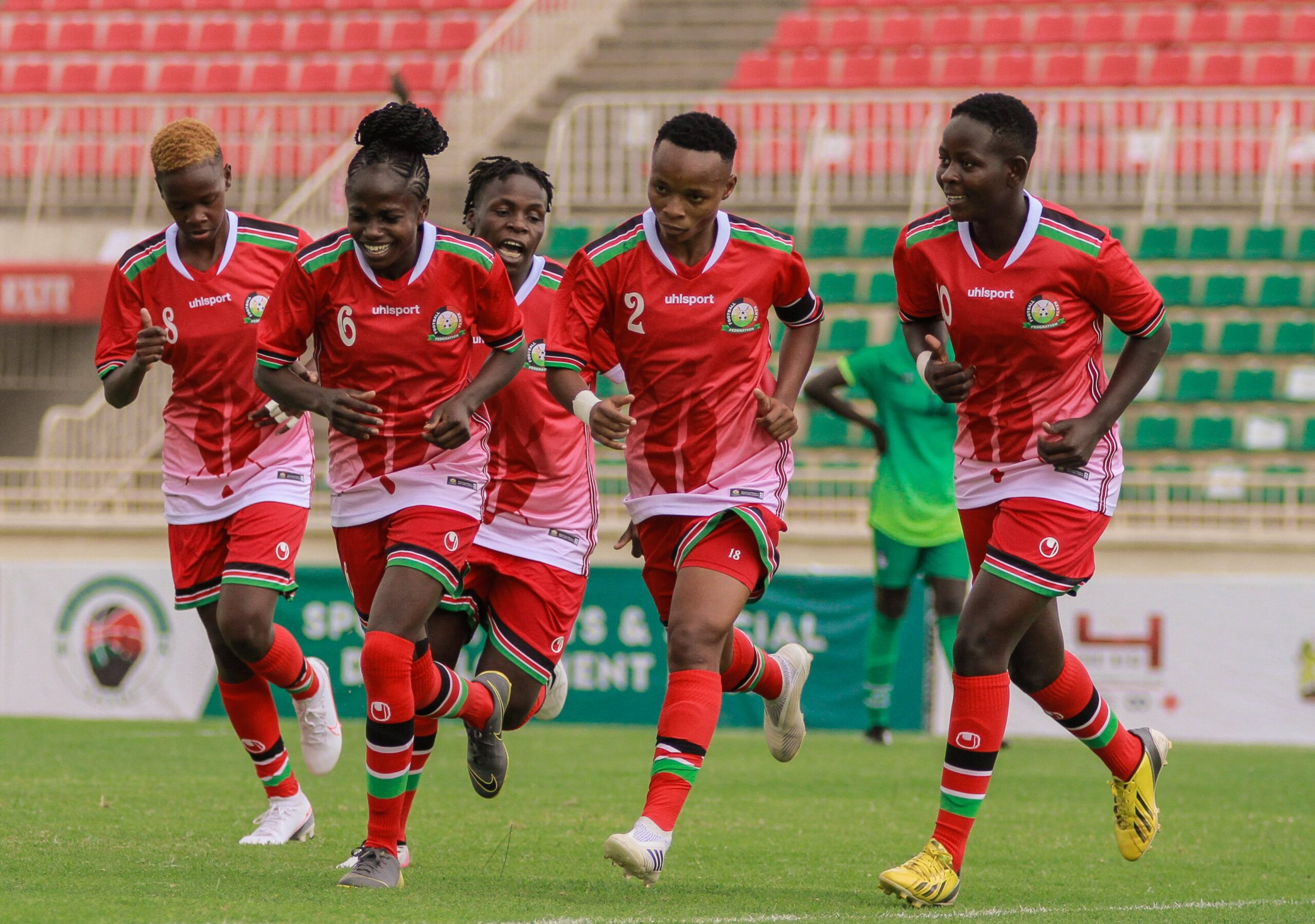 Harambee Starlets rout Bright Starlets in 2022 AWCON Qualifier