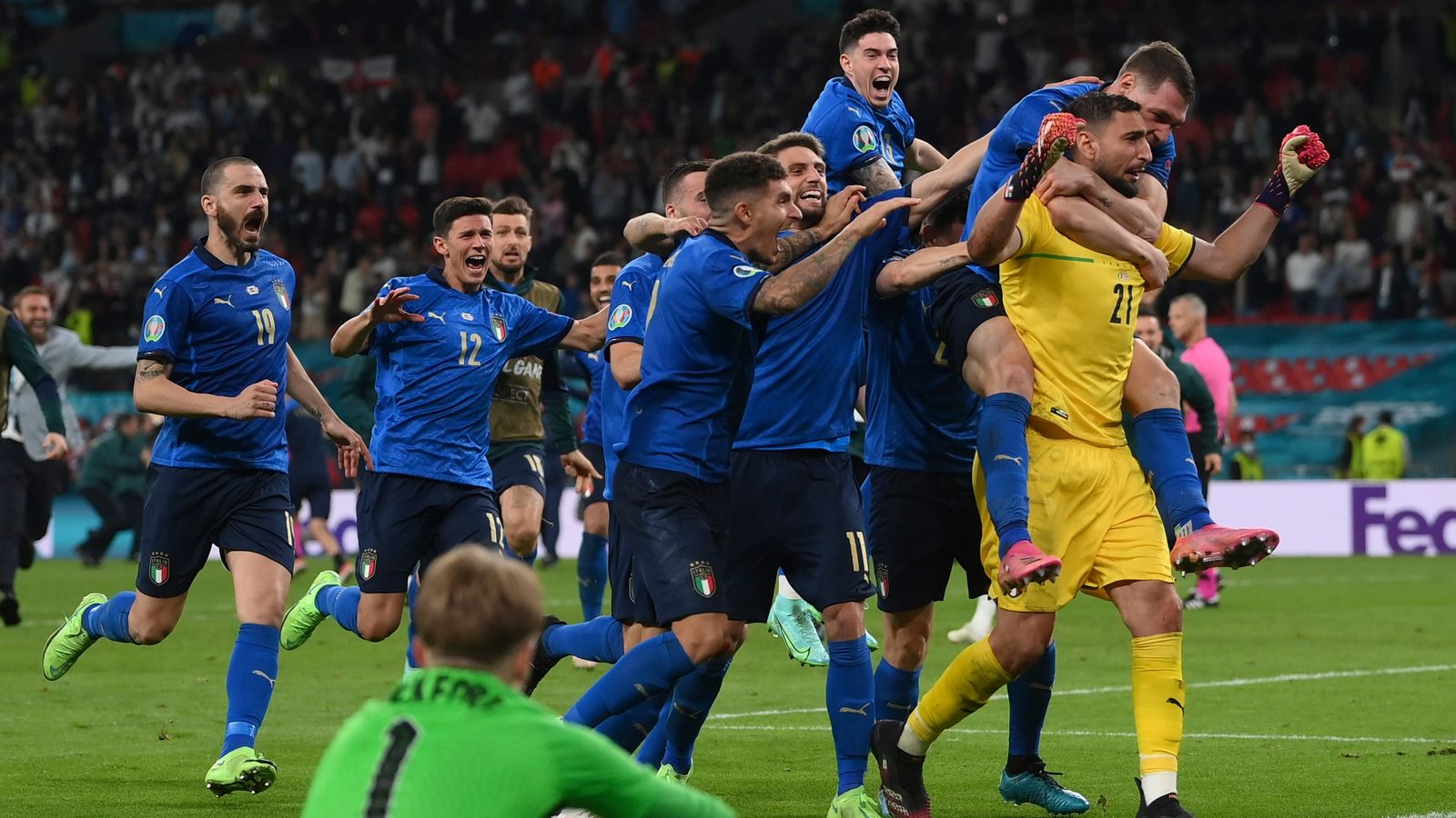 European Champs Italy Finish Third in Nations Cup