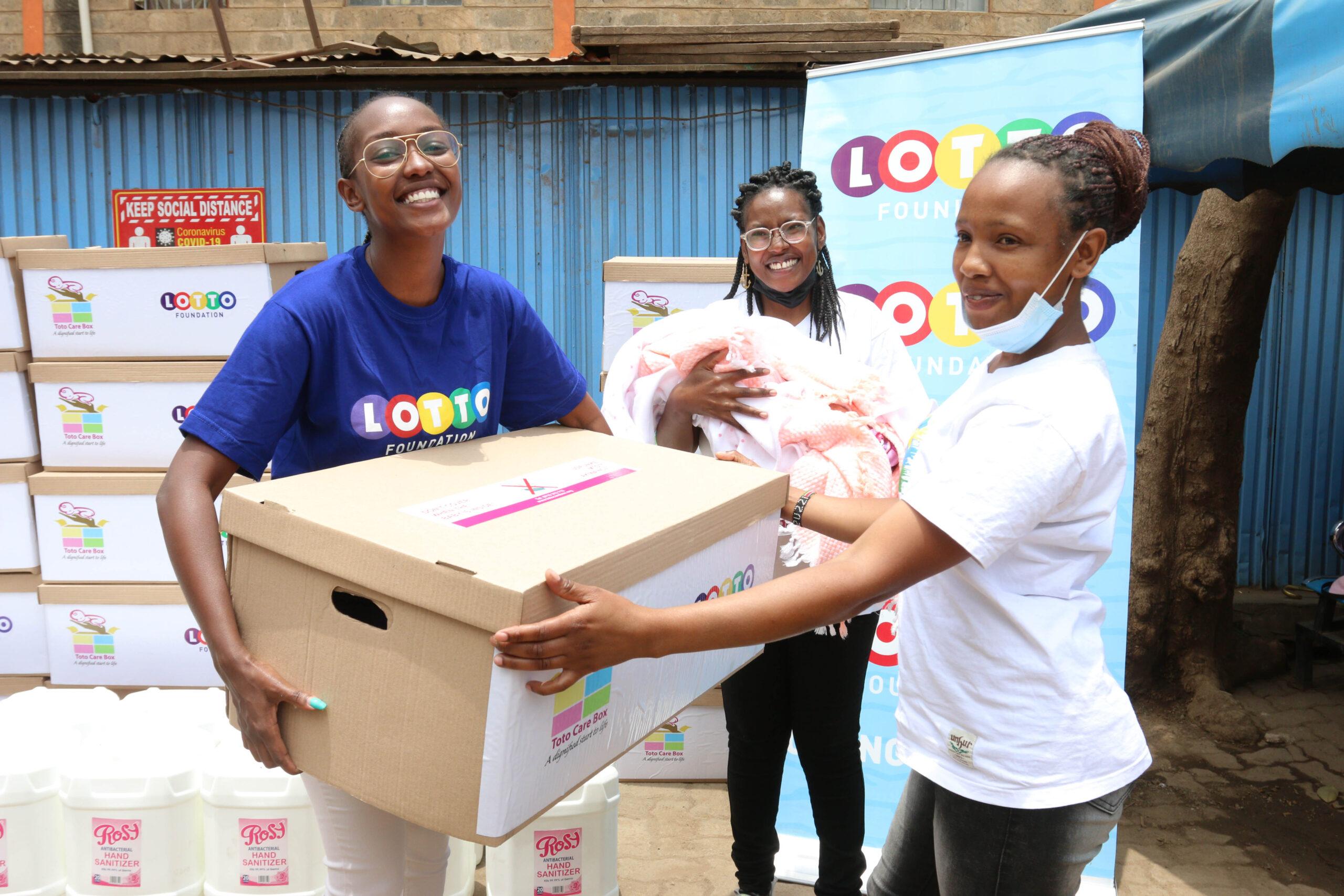 Lotto Pampers Teenage Mothers in Motherhood