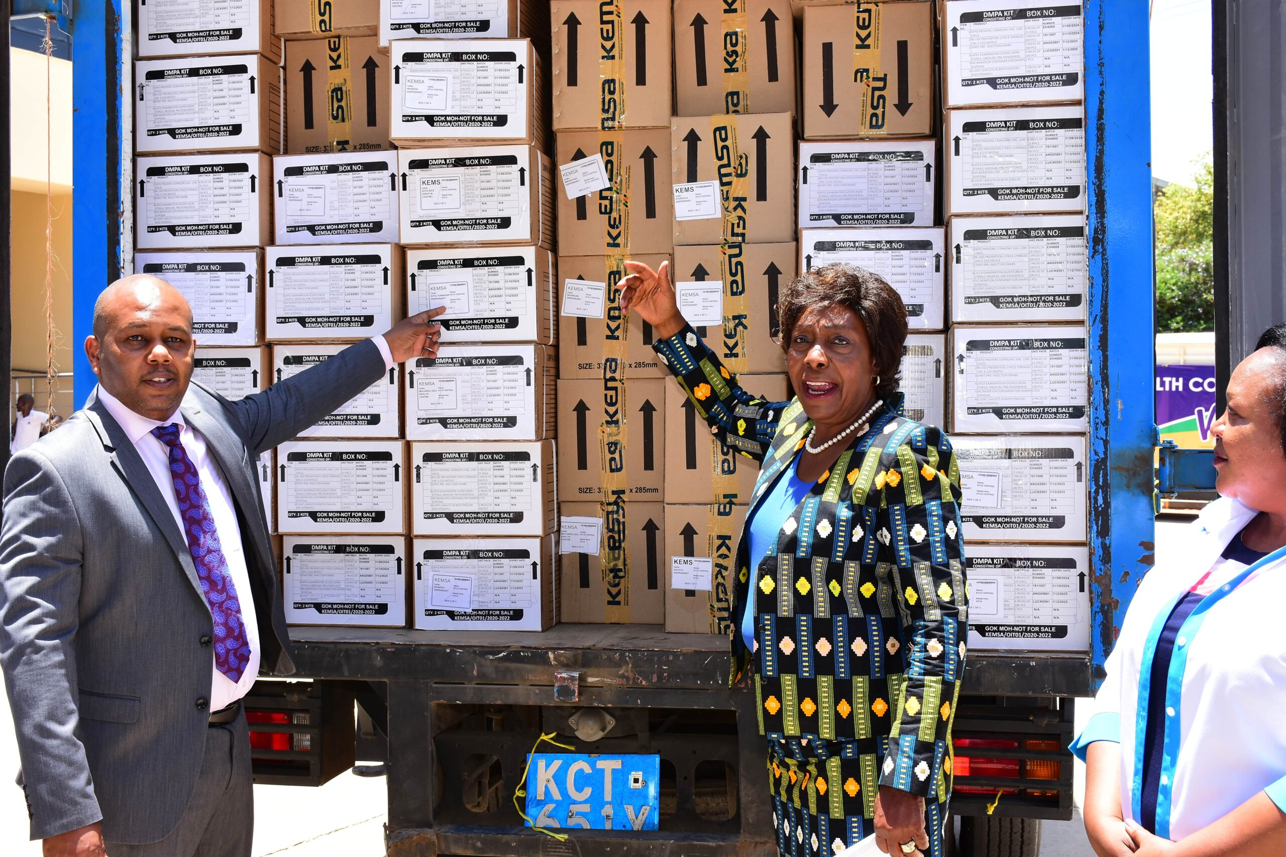 KEMSA Dispatches Orders to County Governments