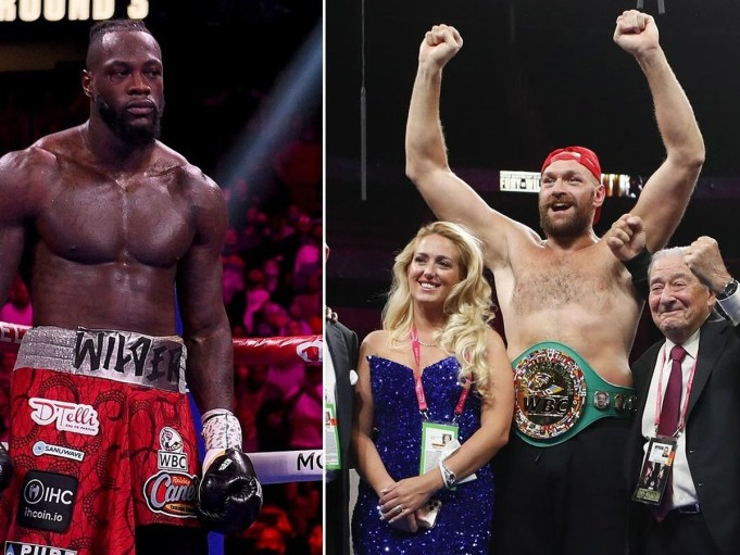 Tyson Fury's wife Paris takes shots at Deontay Wilder, tells him to retire because 'he is not good at boxing' and 'not tough enough'