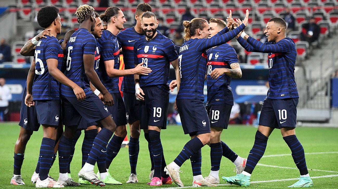France Storm into Nations League Finals, Tame Belgium